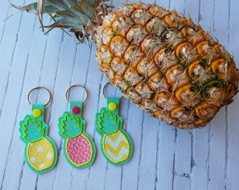 Pineapple keychain