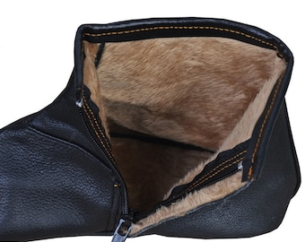 100% Genuine Sheep Leather Socks - Khuffain Kuff khuff Quff - Shoes Slippers -  Mest - Feet Warmer -  Slippers - Traditional Shoes