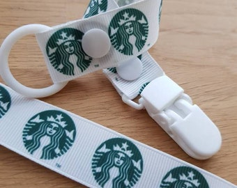 Soother clip starbucks
