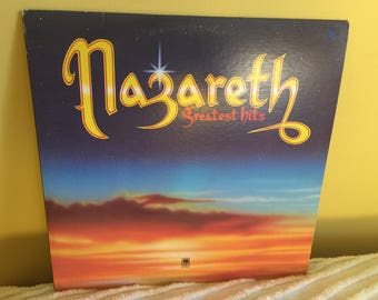Nazareth Greatest Hits Record Album NEAR MINT CONDITION
