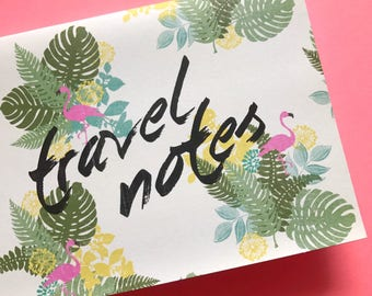 Travel Notes Mini Jotters (2-pack)