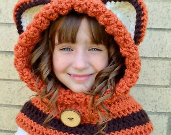 Fox Crochet Hat