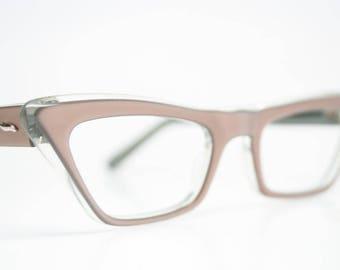 Mink Poiny Vintage Cat Eye Glasses