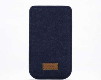 iPhone Case - iPhone Cover - iPhone 5 and 5s Felt Sleeve - Cell Phone Cover