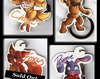 Five Nights at Freddy's Keychains