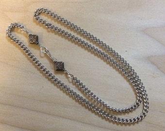 Mens Silver Necklace, Men's Heavy Chain, 26 inch chain, 28 Inch Chain, 30 Inch Chain, Mens Jewelry,