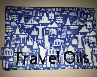 Essential Oil snap travel pouch