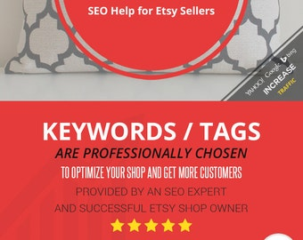 800 Pillow Keywords / Tags   Search Engine & Etsy Keywords for Pillows - Help for Etsy Sellers   PDF and Excel Spreadsheet included