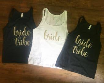 Bride Bachelorette Party Shirt - Bride Shirt - Bachelorette Party Shirts - Custom Bachelorette Party Shirts