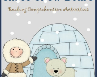 The Three Snow Bears Reading Comprehension Activities