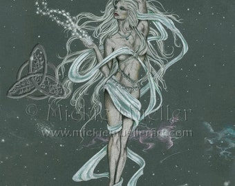 Moon Goddess Open Edition Print