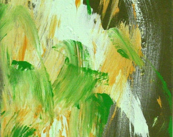Field of Green Original Painting from pony artist MINNOW