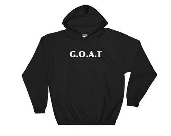 Goat Goat Signs Goat Charm Goat Art Print Goat Lover Design Goat Life Goat Love Gift Hooded Sweatshirt