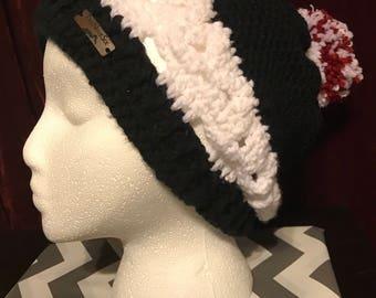Handmade Crochet Skull beanie