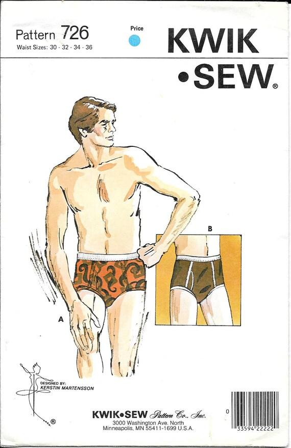 Mens Briefs Pattern Underwear Adult Teen Designer Jockey Shorts Fly ...