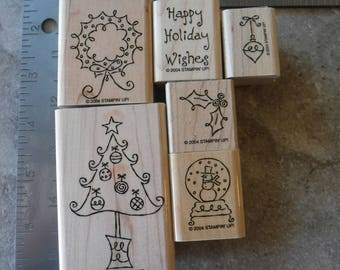 Stampin Up - Stamp Set - All Decked Out - Set 32