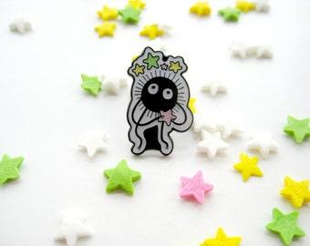 Studio Ghibli Soot Sprite Pin