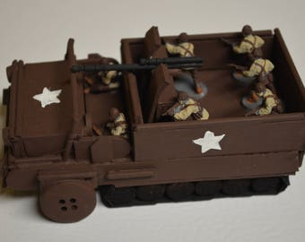 Handmade WWII US Army Half-Track