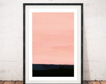 Wall Art Abstract, Abstract Print, Art Print, Giclee Print, Modern Art, Pink art Print, Original art, Wall Decor, Pink, Modern abstract