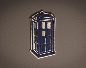 TARDIS -- Doctor Who Embroidered Patch