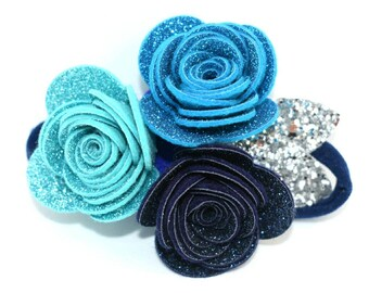 Fairy Glitter Crown Blue