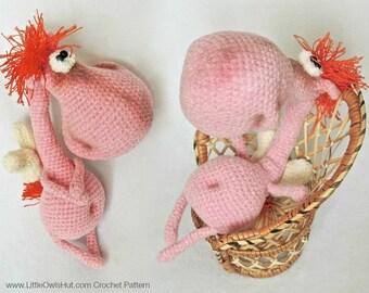 040 Crochet Pattern Horse Glasha.  Amigurumi Toy - PDF file by Pertseva Etsy