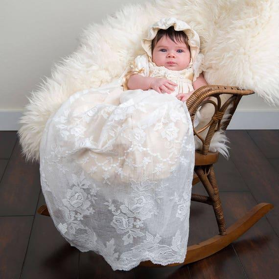 Louisa Newborn Christening Gown Newborn Baptism Gowns &