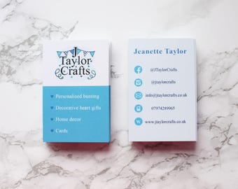 Double sided business card, business card print service, matt business cards, silk laminated business cards, business card design.