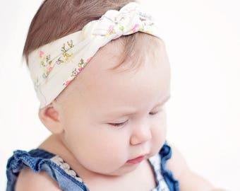 Headband, Celtic Knot Headband, Headbands, Baby Headbands, Turban Headband, Top Knot, Head Wrap, Floral Headband - Petite Tree Fleur