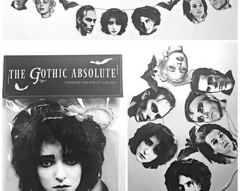 The Gothic Absolute - Goth Garland Banner