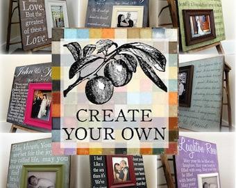 CREATE  YOUR OWN 20x20 Custom Photo Art Plaque