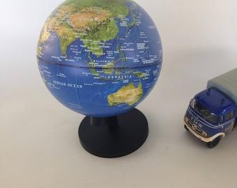 Vintage globe, Stellanova globe, non iluminated globe, small world globe, gift for him