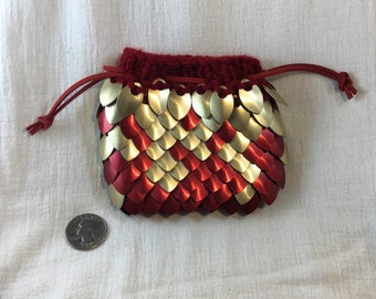 Knit Scale Mail Medium Bag