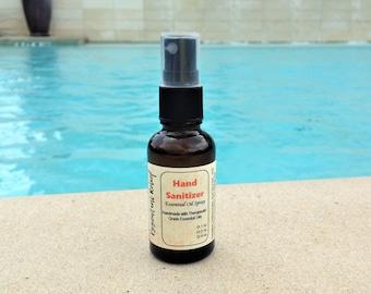 Immunity Blend Hand Sanitizing Spray, Immunity Blend Hand Cleansing Spray, Protective Blend Hand Spray, 1 oz, 2 oz, 4 oz Spray Bottles