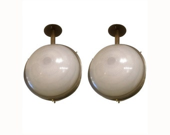 Pair of Sergio Mazza for Artemide Sconces Ceiling Wall Lights