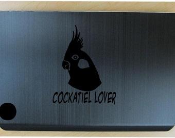 Cockatiel parrot decal