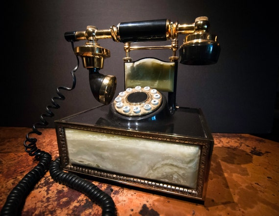 Vintage Push Button WorkingTelephone from the 1980's