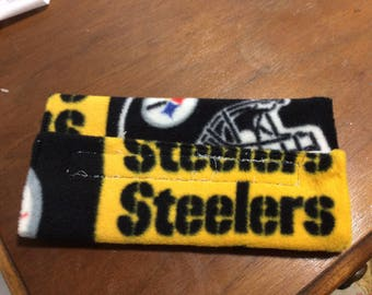Pittsburgh Steelers seatbelt cover