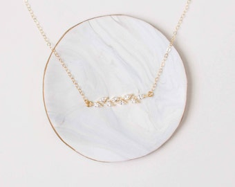 Gold Bar Dainty Layering Necklace - Gold Layering Necklace - Dainty Gold Necklace - Delicate Gold Necklace - Bar Necklace - Minimal Necklace