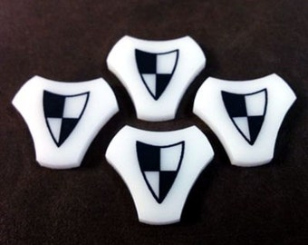 Malifaux Tokens, Defensive Tokens (4x) - 5 color variations!