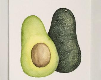 Avocado Print (5x7 Vertical)