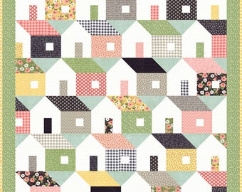 Farmers Daughter cotton quilt kit  by lella Boutique for Moda fabric