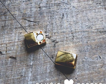 6mm Magnetic Bright Gold Clasp - DIY Jewelry