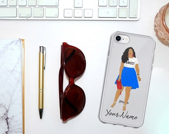 Pretty and Perfect iPhone Case-Personalization Available!