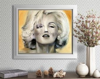 Marilyn Monroe-Marilyn Monroe Wall Art-Marilyn Monroe Print