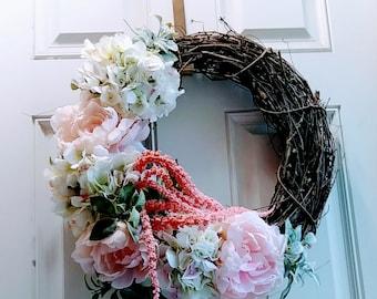 Spring wreath Floral