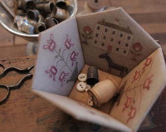 Rose Garden Sewing Basket *KIT*