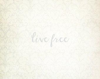 Live Free 8x10 Print