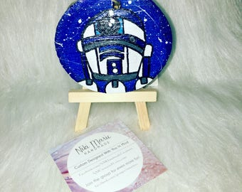 Hand Painted Wooden Ornament Hanger