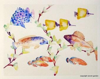 Tropical Fish Painting No. 2